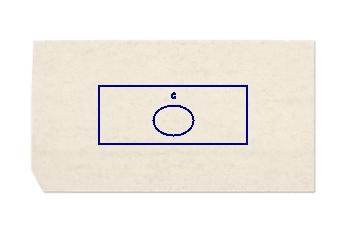 Waschtischplatte aus Bianco Perlino Marmor nach Mass für Badezimmer 150x60 cm