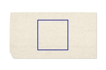 Gesägte Platte aus Bianco Perlino Marmor nach Mass für Badezimmer 100x100 cm