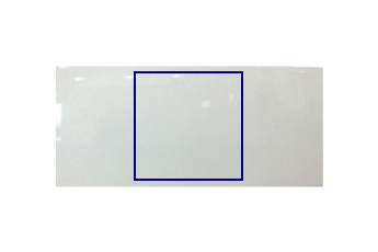 Gesägte Platte aus Crystal White Marmor nach Mass für Badezimmer 100x100 cm