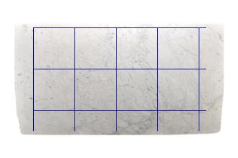 Pavimenti 60x60 cm di Statuarietto Venato marmo su misura per pavimenti