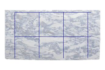Tuintegels Terrastegels 80x80 Terrastegels.Tegels 80x80 Cm Van Calacatta Blue Marmer Gepolijst Voor Keuken